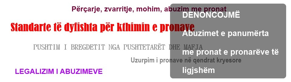 Defending Property Pursuing Justice Albania